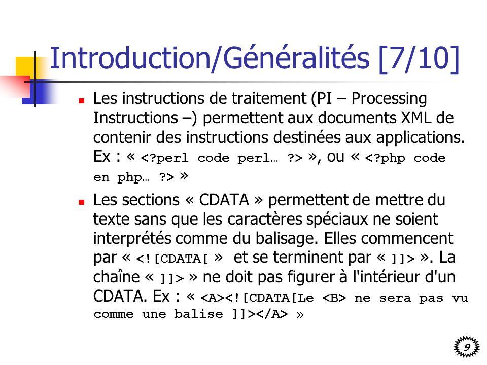 Introduction/Généralités [7/10]